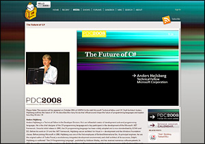 PDC2008 Session and Keynote Recordings Are Now Published