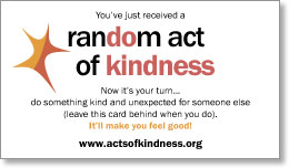 photograph relating to Random Acts of Kindness Cards Printable identify Random Act of Kindness Playing cards Mike Swansons Web site